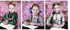 Cornelia Schleime Tryptichon