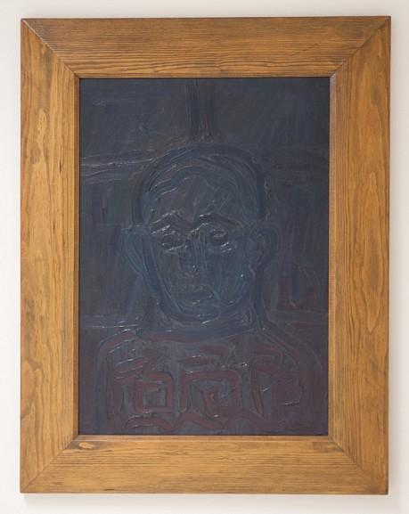 A.R. Penck - Blaues Selbstbildnis - 1962